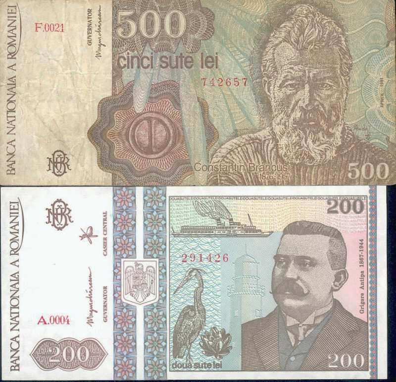 World Currencies: Romanian Currency
